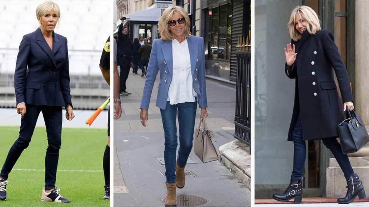 La mode à la Brigitte Macron, un retour fracassant !!