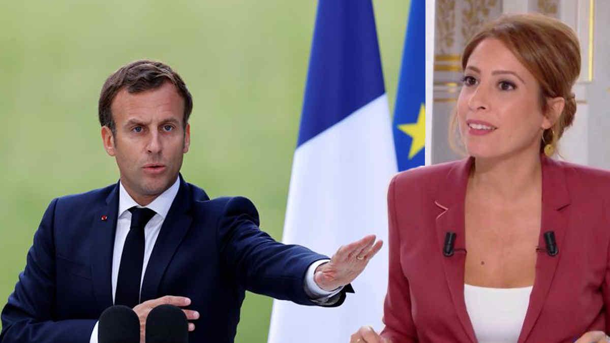 14 Juillet : Emmanuel Macron envoye au diable Léa Salamé après une question sur son éventuelle candidature en 2022.