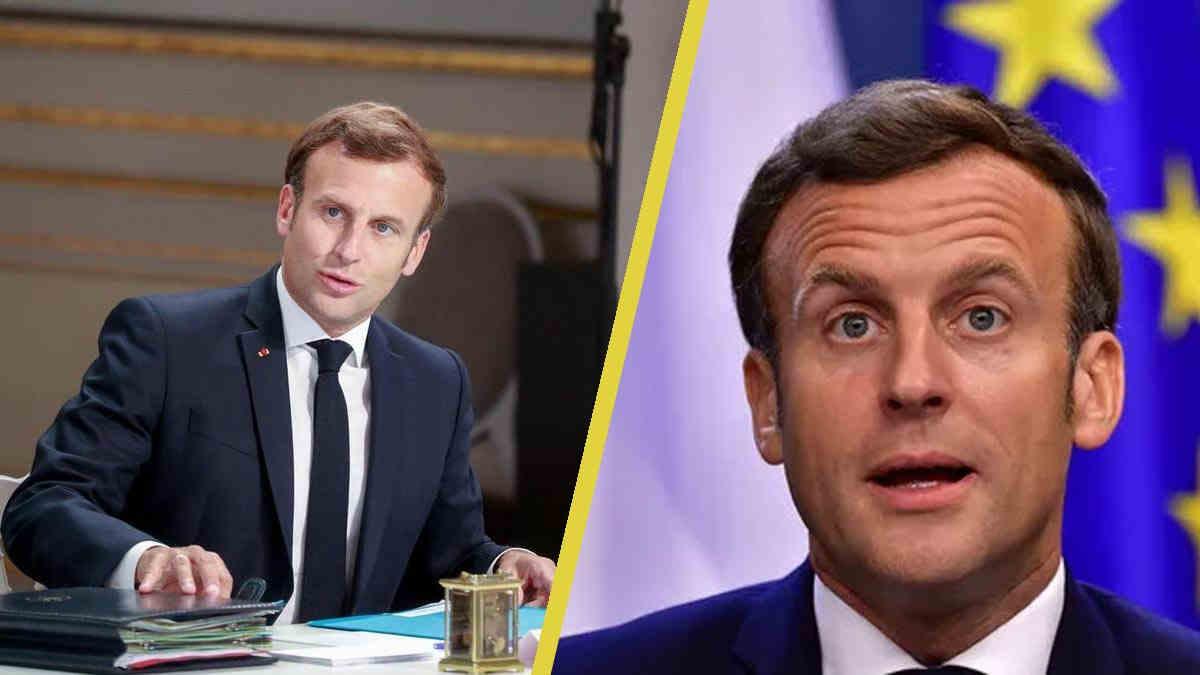 Emmanuel Macron au centre d'un scandale : ce mot qui a suscité l'ire de l'opposition.