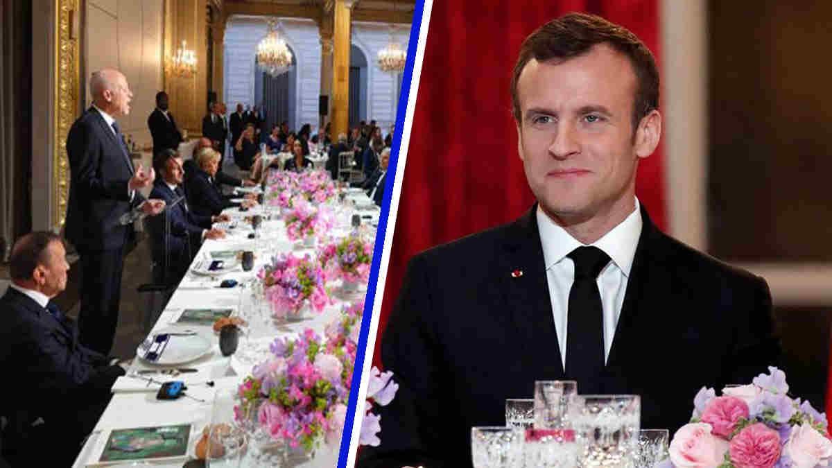 Emmanuel Macron : 50 000 ou 500 000 ? Combien paye le contribuable pour la vaisselle de l'Elysée ?