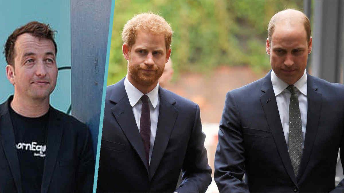 Les princes Harry et William visés par une plainte pour