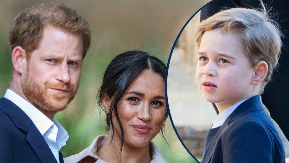 Meghan Markle et Harry impliquent le petit prince George dans leur querelle ?