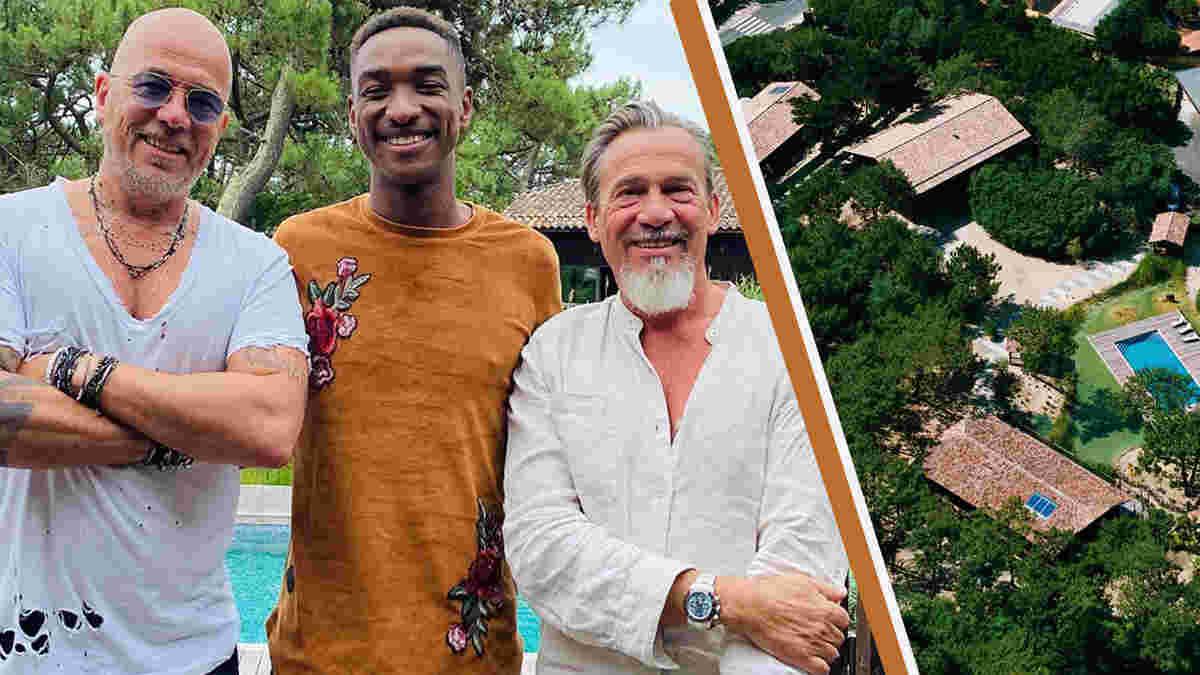 Pascal Obispo : grandes retrouvailles au Cap-Ferret avec deux anciens de The Voice.