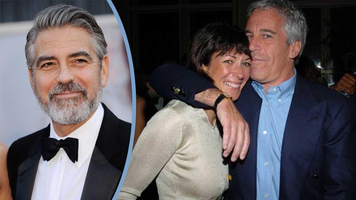 Affaire Epstein : une accusation accablante vient de tomber sur George Clooney et Ghislaine Maxwell