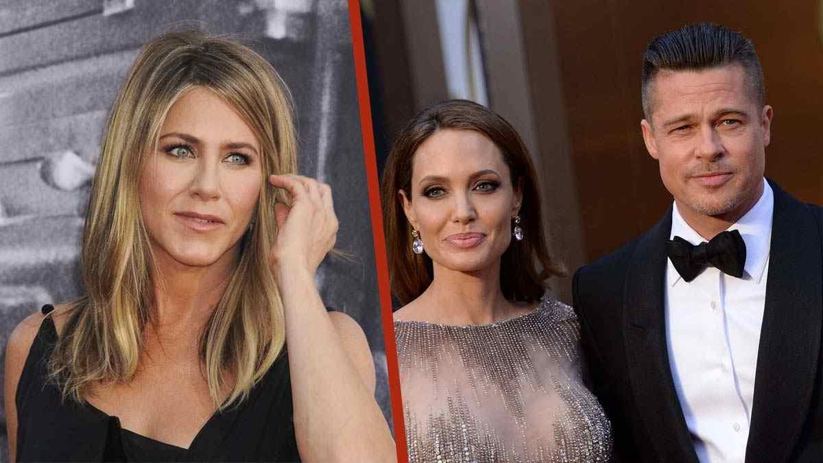 Brad Pitt joue avec le feu : entre Jennifer Aniston et Angelina Jolie.
