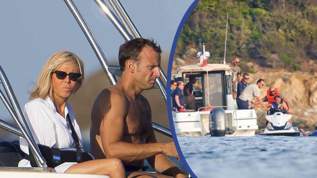 Brigitte et Emmanuel Macron : cette virée en bateau sous haute surveillance !