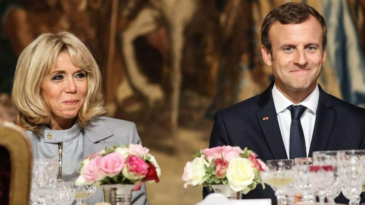 Brigitte et Emmanuel Macron : Que mangent-ils chaque jour à l'Elysée ? Les confidences CHOCS du chef cuisinier.