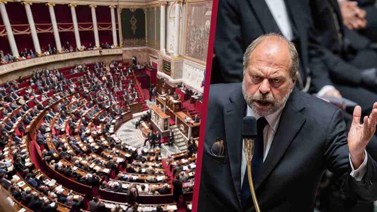 Eric Dupond-Moretti très offusqué lâche une grossièreté à l'Assemblée.