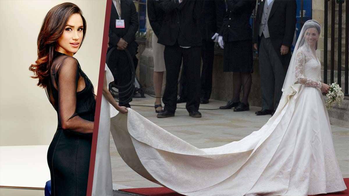 Quand Meghan Markle rêvait irrésistiblement du mariage de Kate Middleton… avant de tomber de haut !