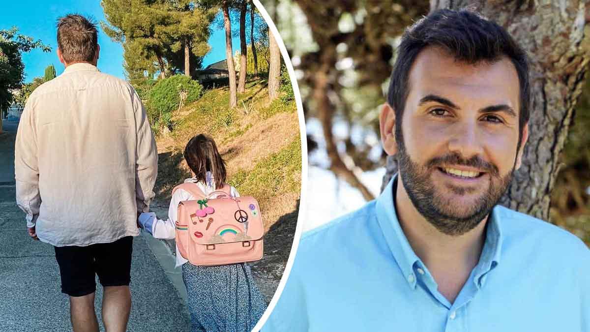 Laurent Ournac publie un émouvant message pour la reprise des classes de sa fille Capucine !
