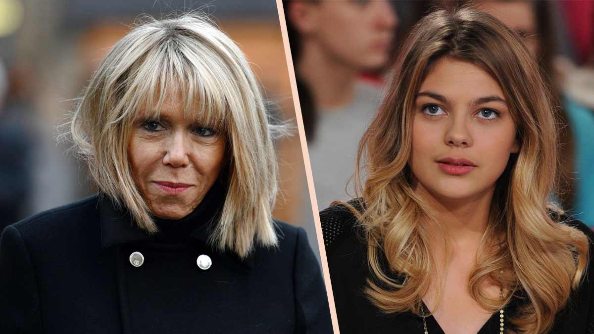 Brigitte Macron et Louane : cette surprenante histoire qui les relie !