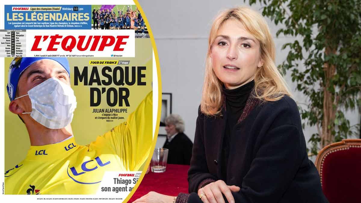 Julie Gayet vexée elle se déchaîne sur le journal L'Équipe !